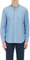 Caruso Men's Cotton Chambray Shirt
