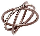 Michael Kors Crossed Band Ring