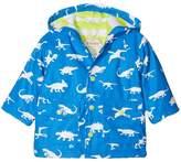Hatley Colour Changing Dinosaur Menagerie Mini Raincoat Boy's Coat