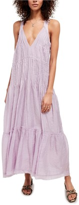 Free People Frankie Pintuck Sleeveless Maxi Dress