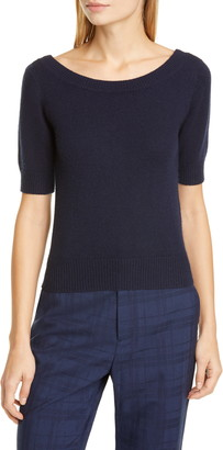 Co Short Sleeve Cashmere Sweater