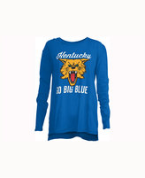 Royce Apparel Inc Women's Kentucky Wildcats Noelle Long-Sleeve T-Shirt