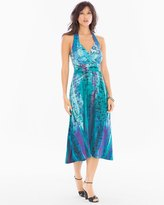 Soma Intimates Soft Jersey Draped Midi Halter Dress