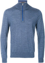 Paul Smith half zip knitted pullover