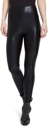 Lysse Super High Waist Faux Leather Leggings