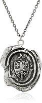 """Pyrrha talisman"""" Sterling Silver Five Fleur De Lys Crest Necklace"""