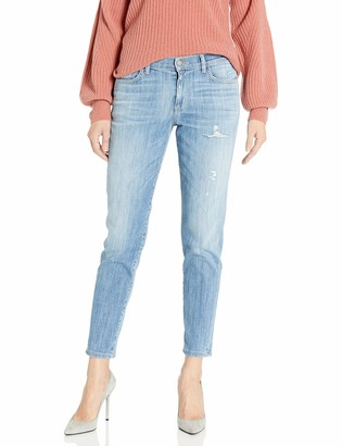 SIWY Women's Shelby Mid Rise Boyfriend Jeans in Rock This Town 32