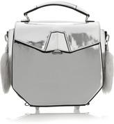 Alexander Wang Devere metallic leather shoulder bag