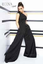 Ieena for Mac Duggal - 25336 Evening Dress Jumpsuit In Black