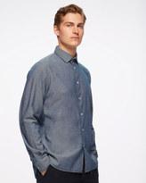 Jigsaw Selvedge Chambray Slim Shirt