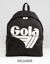 Gola Exclusive Classic Backpack In Black And White