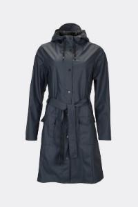 Rains Blue Curve Jacket 1206 - XXS/XS