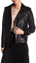 The Kooples Perfecto Minima Leather Jacket