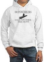 CafePress - Ironworkers Walk On Thier Ere - Pullover Hoodie, Hooded Sweatshirt