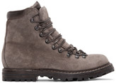 Officine Creative Taupe Suede Kontra Hiking Boots