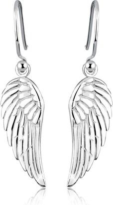 Elli Women 925 Sterling Silver Wing Earrings 0311680712