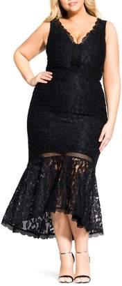 City Chic Ravishing Mermaid Dress