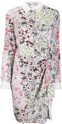 Lala Berlin floral shirt dress