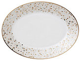 Nikko Spangles Shimmering Bone China Platter