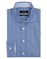 Jaeger Two-Colour Stripe Slim Shirt