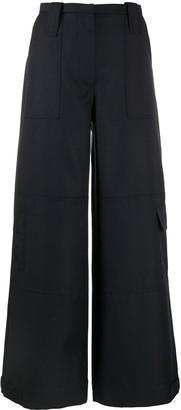 Ganni Wide-Leg Trousers
