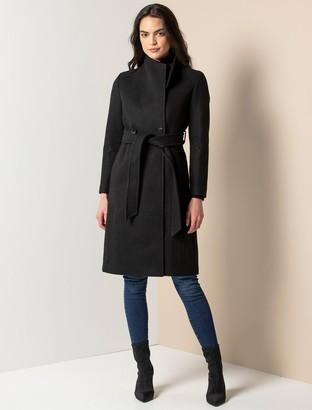 Ever New Heather Petite Wrap Coat