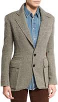Ralph Lauren The Tweed Jacket, Black/White