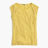 J.Crew Ballet cap-sleeve T-shirt in stripe