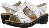 Clarks Lexi Walnut Q (White) Women's Sandals
