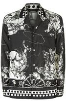 Dolce & Gabbana Old West Print Pyjama Shirt