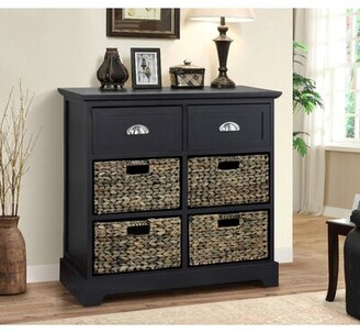 Beachcrest Home Fleming 6 Drawer Accent Chest Color: Cream