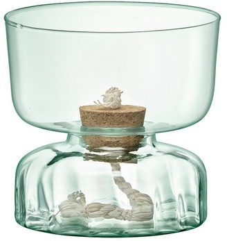LSA International Canopy Recycled Glass Self Watering Planter 13cm