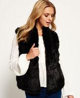 Superdry Luxe Fur Gilet