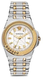 Versace Chain Reaction Watch, 40mm