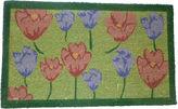 Asstd National Brand Tulips Rectangle Doormat - 18X30