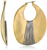Kenneth Cole New York Large Gold-Tone Orbital Earrings