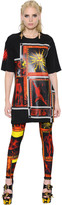 Fausto Puglisi Printed Stretch Jersey T-Shirt Dress