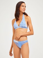J.Mclaughlin Malibu Halter Bikini Top in Patchwork