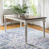 Asstd National Brand 60 Solid Wood Turned Leg Dining Table