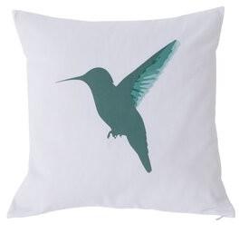 Kensie DR International Regina Pillow in Green & Magenta by DR International