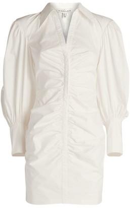 Shona Joy Grant Ruched Shirt Dress