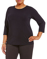 Investments Plus 3/4 Sleeve Top