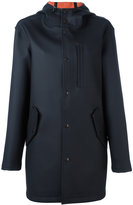 Alexander Wang hooded rain-coat - women - Cotton/Polyester - XS