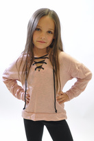 Rock & Candy Rock Candy Lace-Up Hooded Sweatshirt