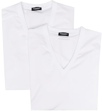 DSQUARED2 two-pack logo-print T-shirts