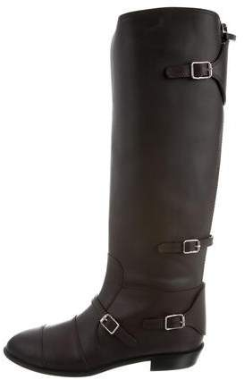 Giuseppe Zanotti Leather Knee-High Boots w/ Tags