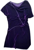 BCBGMAXAZRIA Purple Velvet Dress for Women