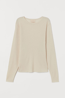 H&M Fine-knit cashmere-mix jumper