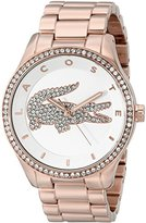 Lacoste Women's 2000828 Victoria Rose Gold-Tone Stainless Steel Watch