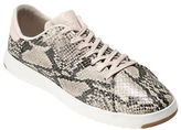 Cole Haan Grandpro Snake-Print Leather Sneakers